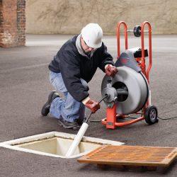 Limpiadora de desagües RIDGID K-750
