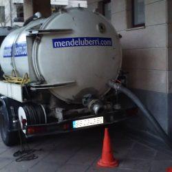 Camion desatascos Gipuzkoa fosas sépticas