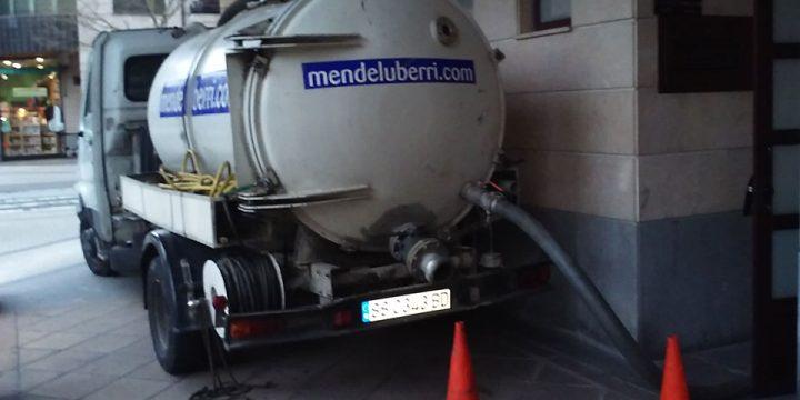 Desatascos en Gipuzkoa. Limpieza de fosas sépticas Gipuzkoa. Mantenimiento de tuberías y canalizaciones.