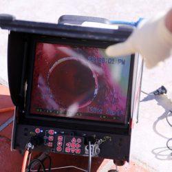 Inspección cámara TV de tuberías